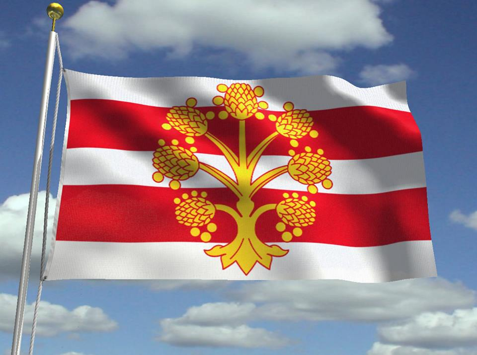 Westmorland Flag (Illustration: Jason Saber)